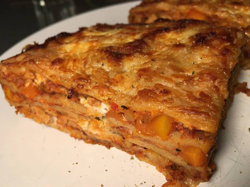 Szénhidrátcsökkentett, gluténmentes lasagne