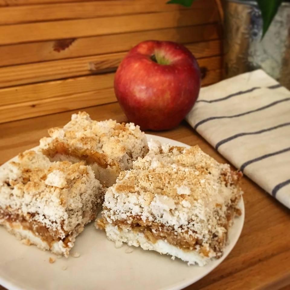 Szafi Fitt morzsás süti