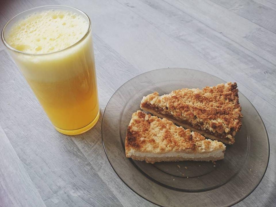 Paleo-vegán gluténmentes morzsas pite