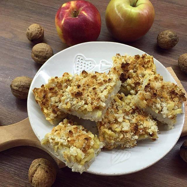 Paleo-vegán almás pite