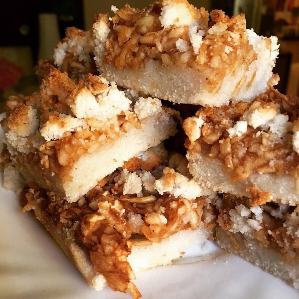 Szafi Fitt gluténmentes almás pite