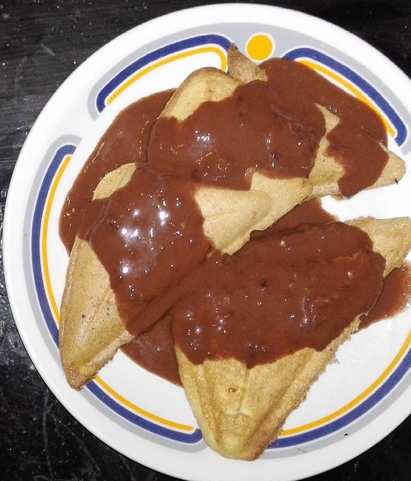 Paleo gluténmentes édes háromszög