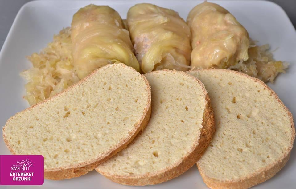 Szénhidrátmentes kenyér