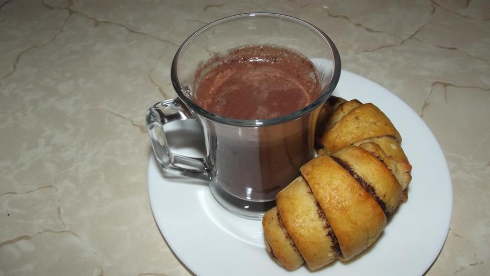Szafi Fitt kakaós croissant