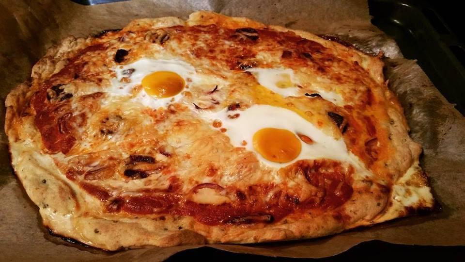 Szafi Fitt pizza