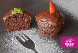 Paleo csokis ízű muffin
