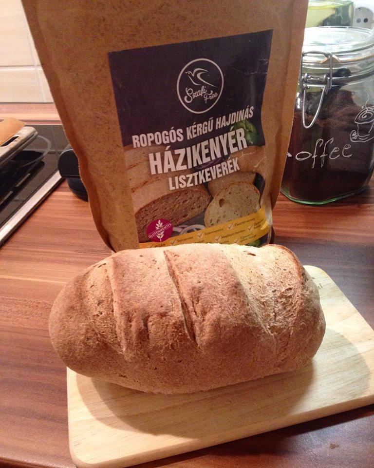 Gluténmentes hajdinás kenyér