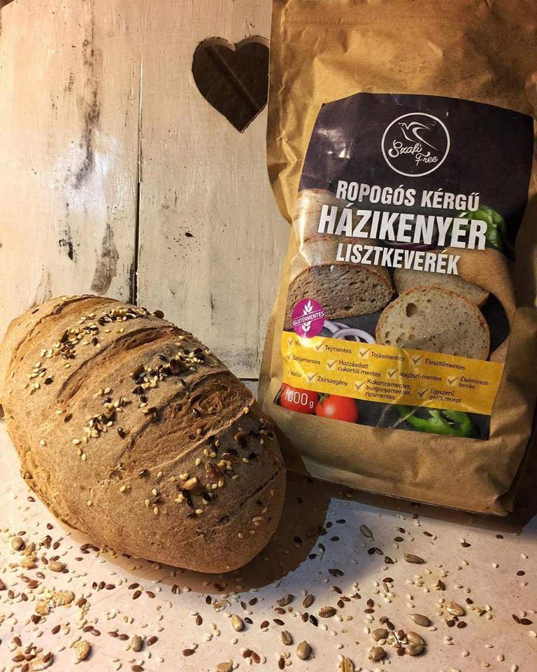 Ropogós kérgű SZafi Free kenyér