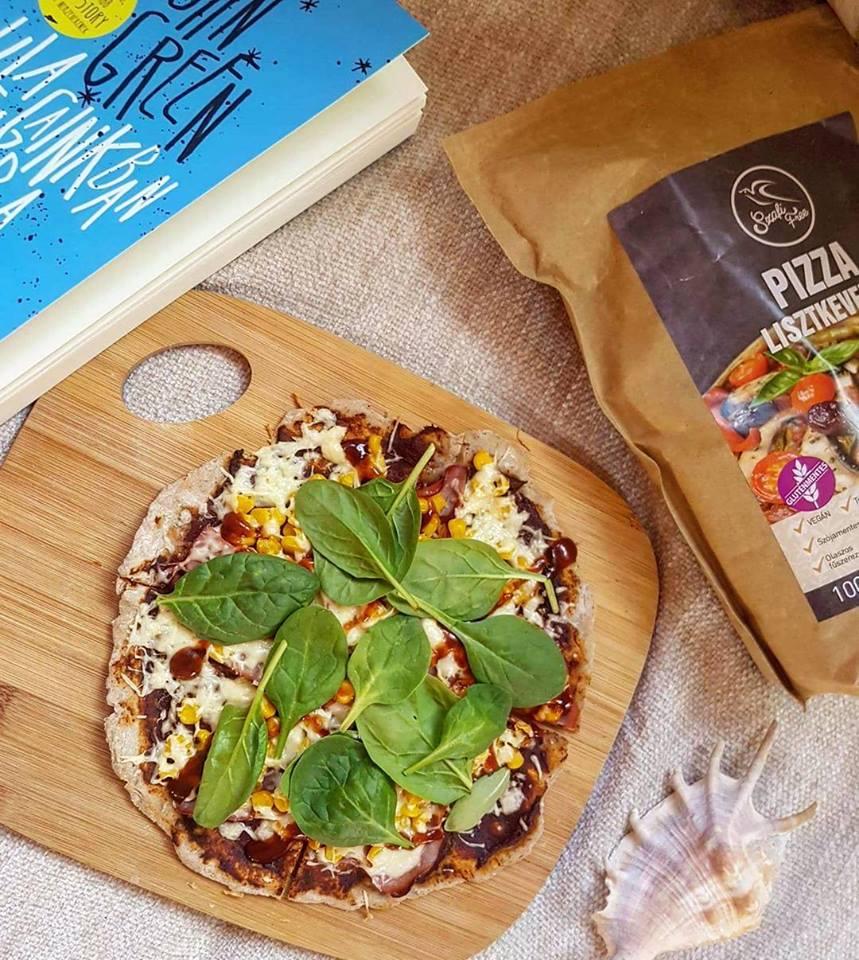 Szafi Free gluténmentes pizza