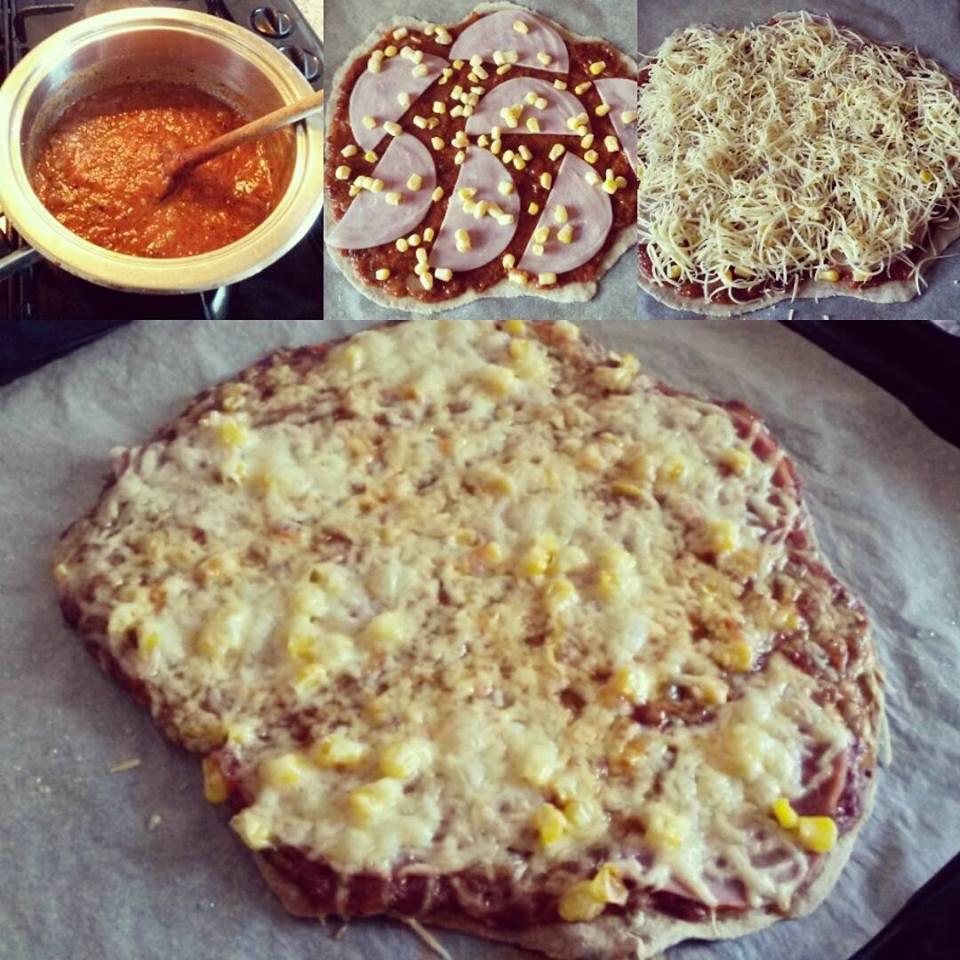 Allergénmentes, lassú felszívódású pizza