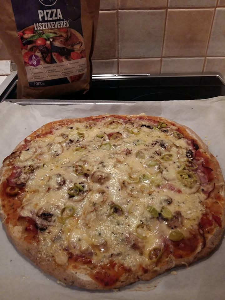 Kelesztés nélküli, élesztőmentes pizza