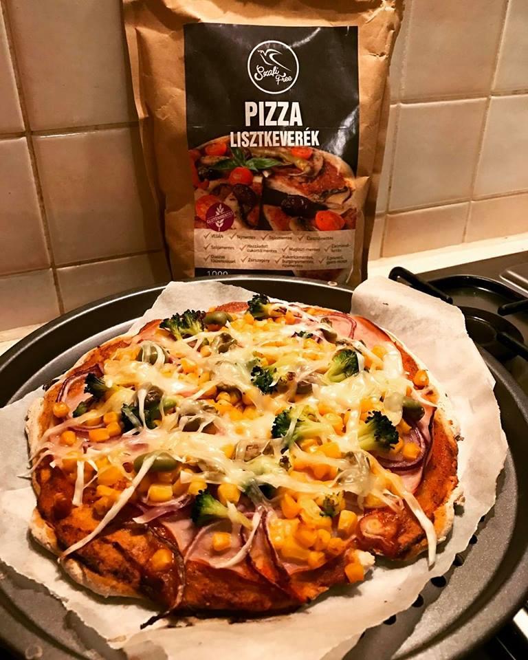 Szafi Free kelesztés nélküli pizza