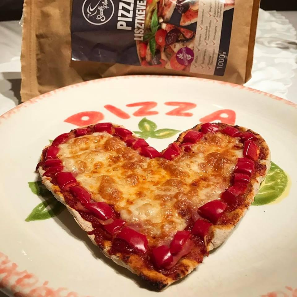 Szafi Free tojásmentes, tejmentes pizza
