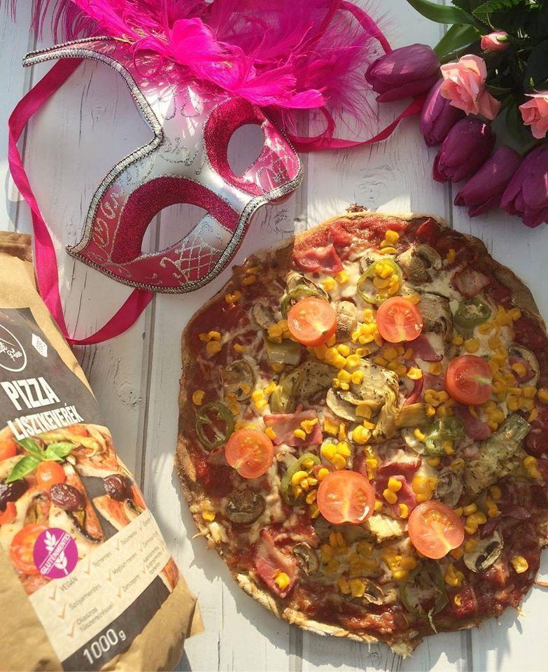 Szafi Free gluténmentes vegán pizza