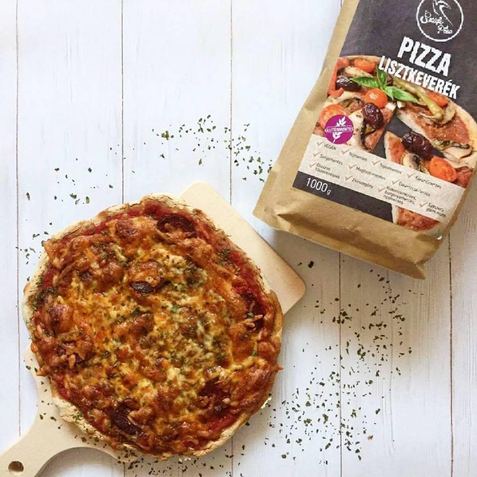 Szafi Free tejmentes, élesztőmentes pizza