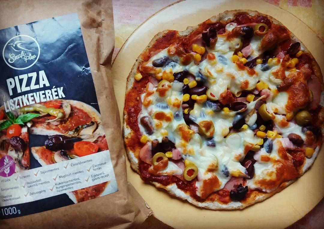 Szafi Free gluténmentes, tejmentes pizza