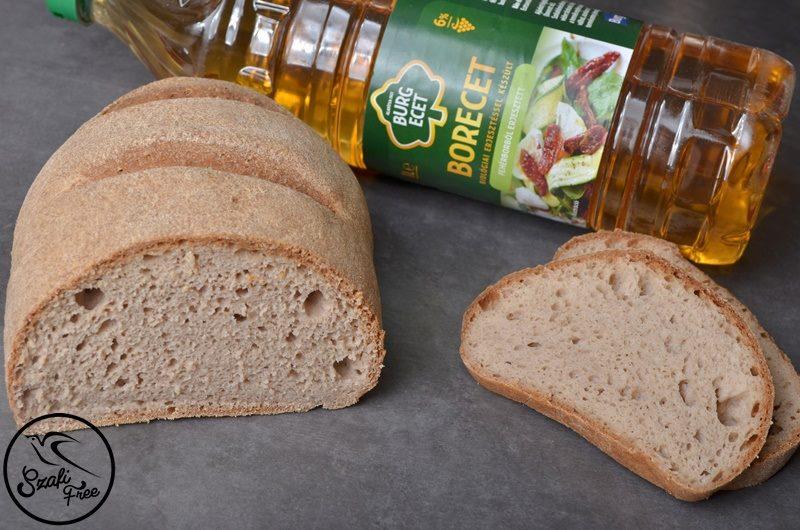 Szafi Free vegán kenyér fehérborecettel