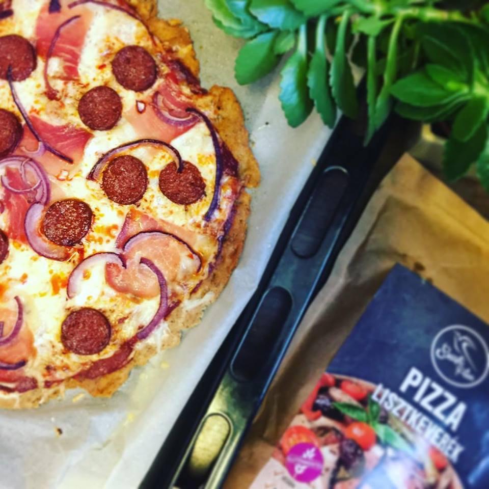 Szafi Free vegán pizza
