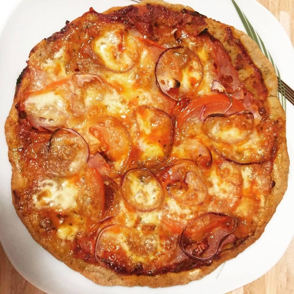 Szafi Free tojásmentes, élesztőmentes, gluténmentes pizza