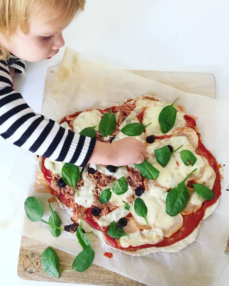 Zsírszegény, tejmentes pizza