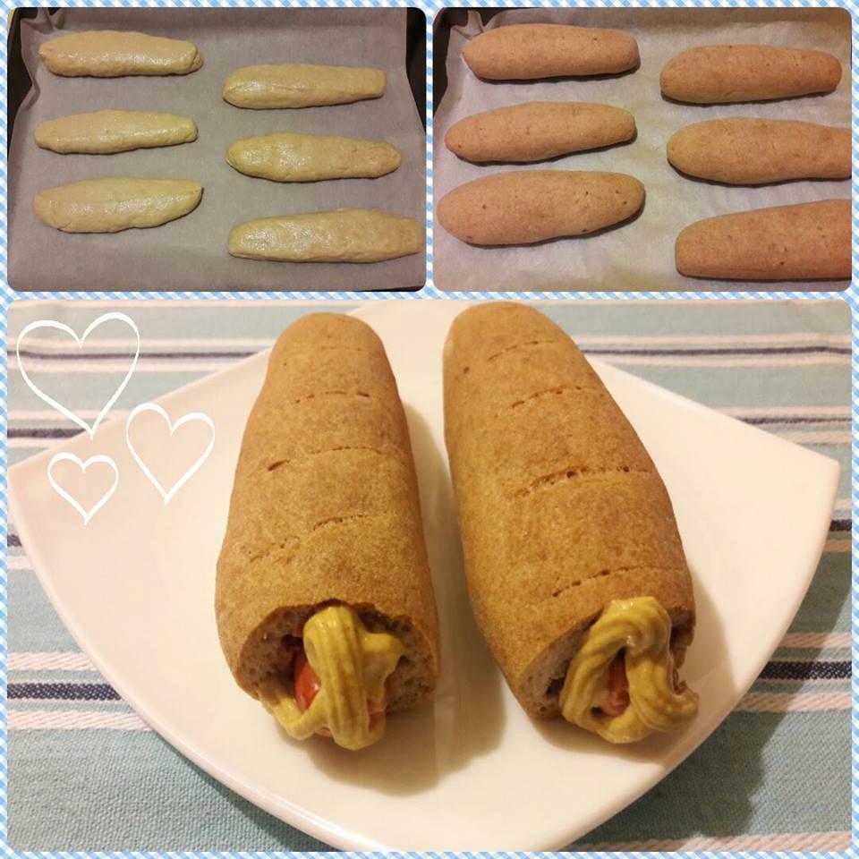 Szafi Free gluténmentes vegán hotdog kifli