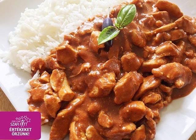 Szafi Fitt indiai csirke