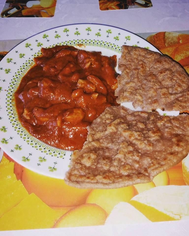 Szafi Fitt Tikka massala Szafi Free tortillaval