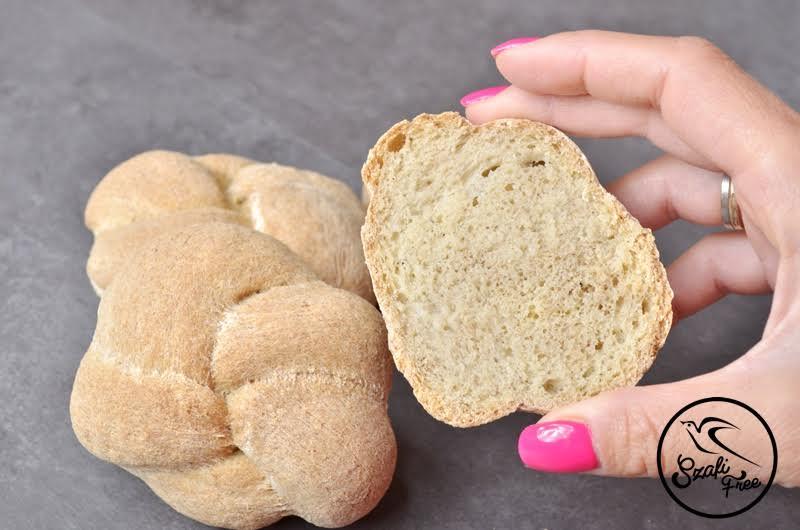 Élesztőmentes, gluténmentes Szafi Free kenyér