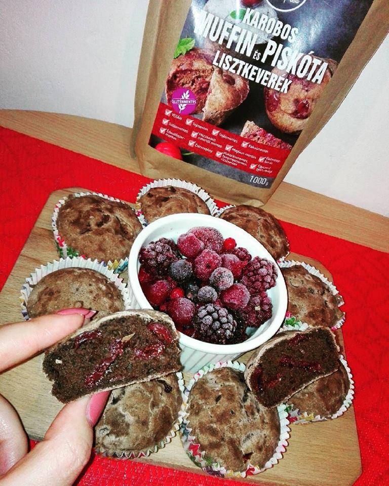 Szafi Free gluténmentes karobos muffin