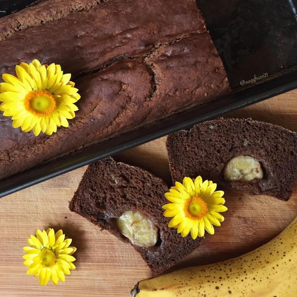 Szafi Free karobos-banános kenyér