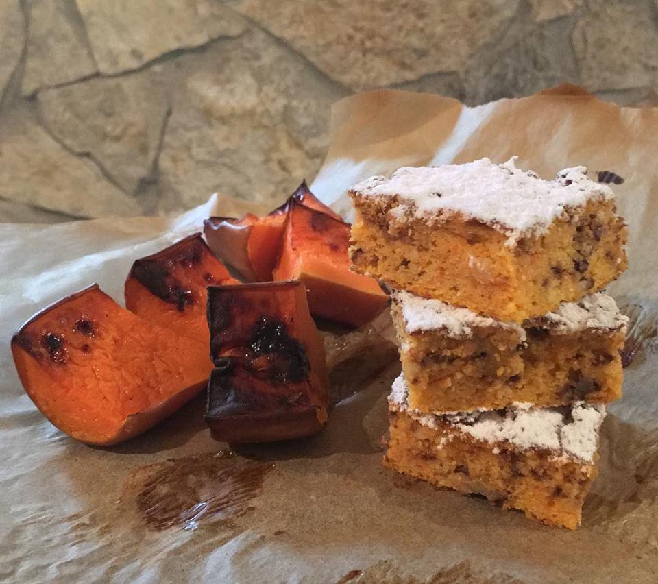 Gluténmentes, tejmentes sütőtökös paleo süti