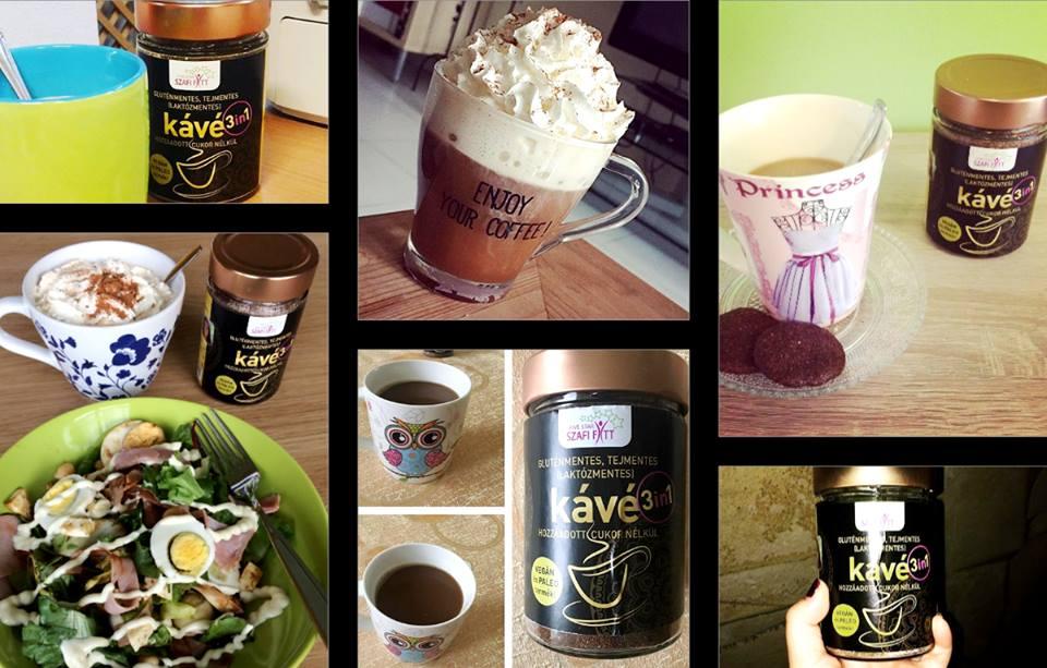 Szafi Fitt 3in1 kávé