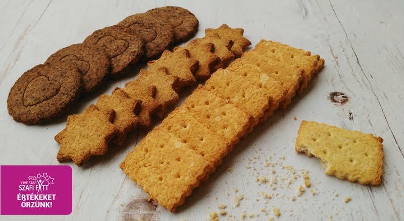 Ropogós vegán keksz
