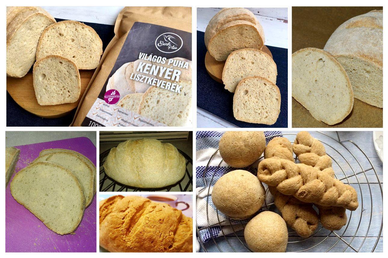 Szafi Free világos puha kenyér