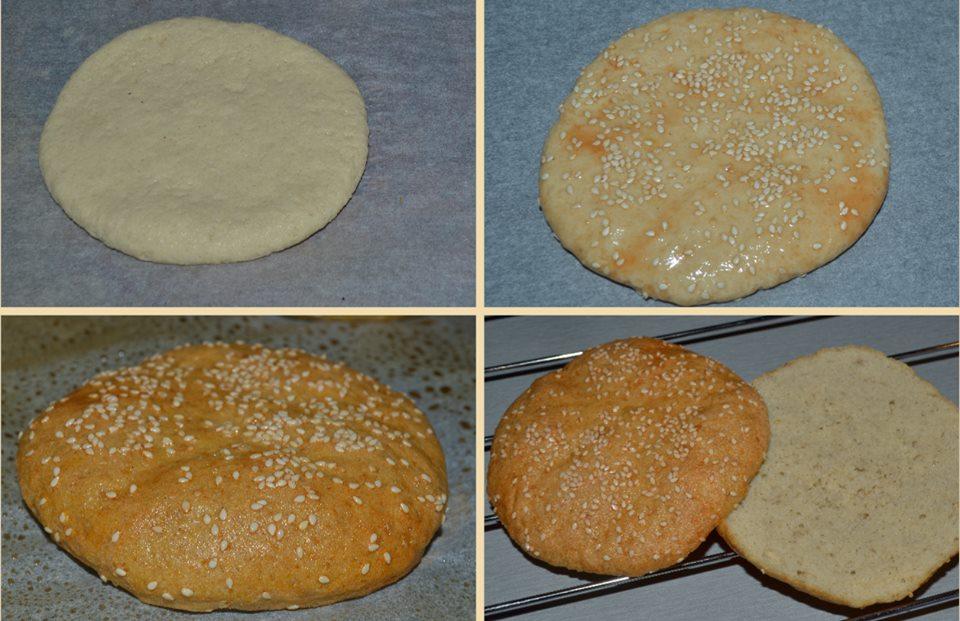 Szafi Free hamburger zsemle készítése