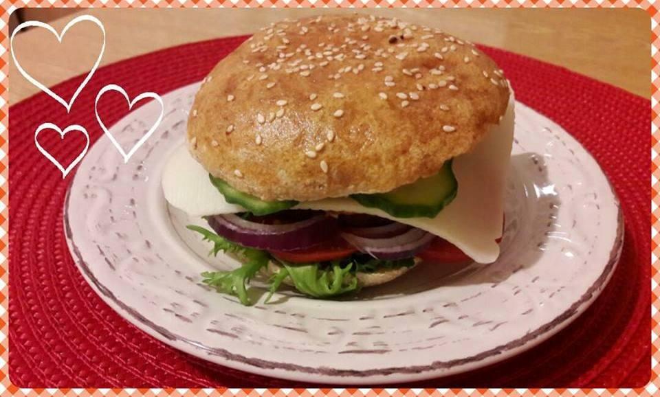 Szafi Free vegán hamburger zsemle