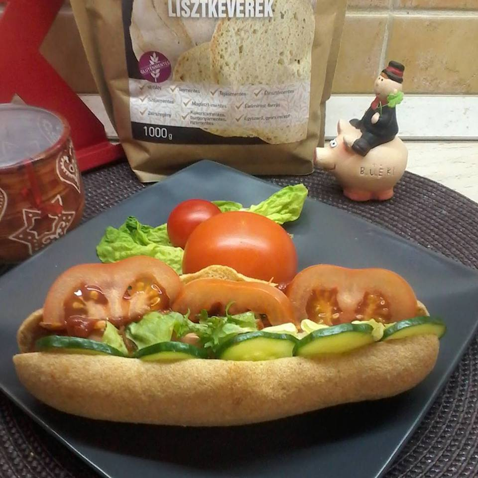 Szafi Free élesztőmentes hotdog kifli