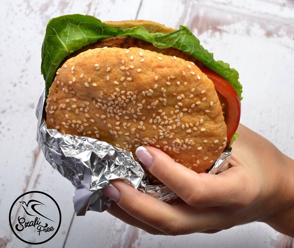 Szafi Free gluténmentes, szójamentes, tojásmentes, tejmentes hamburger