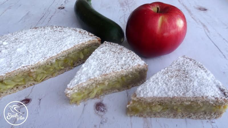 Vegán gluténmentes almáspite