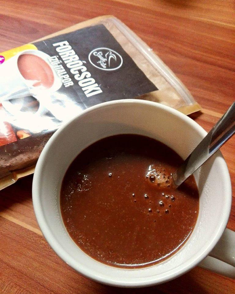 Szafi Free vegán, gluténmentes forró csoki