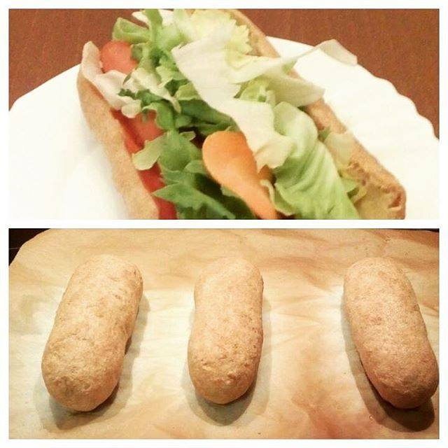 Szafi Free élesztőmentes, tojásmentes hotdog kifli