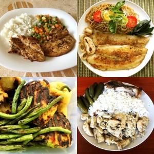 Szafi Fitt fűszerkeverékekkel készült ételek