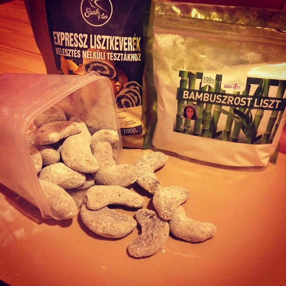 Szafi Free gluténmentes vegán hókifli