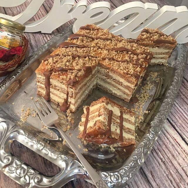 Szafi Free gluténmentes Marlenka ízű sütemény