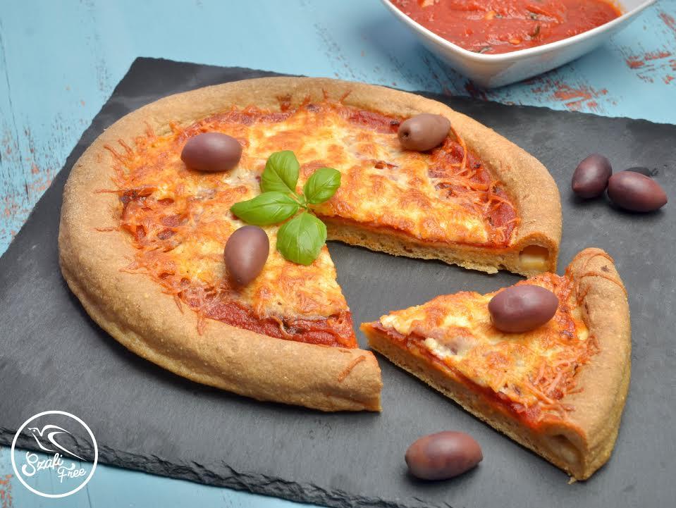 Gluténmentes, élesztőmentes pizza