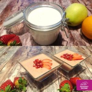 Paleo, vegán kókuszjoghurt