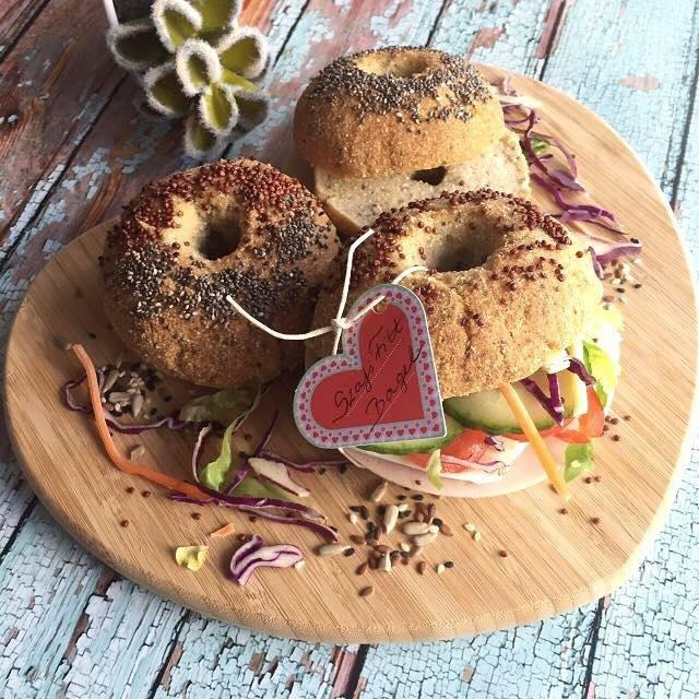 Szafi Fitt gluténmentes, tejmentes bagel