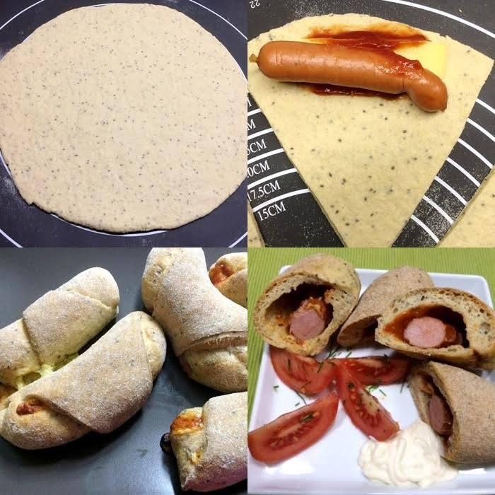 Szafi Free chia magos hotdog kifli