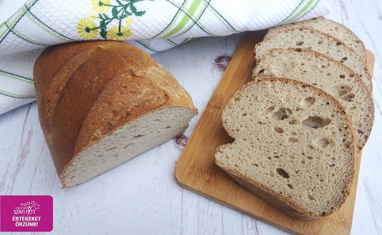Szénhidrátcsökkentett édesburgonyás kenyér