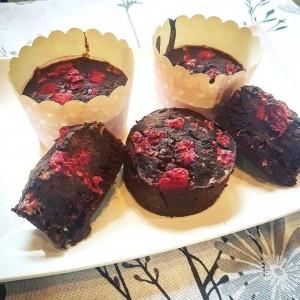Gluténmentes, zsírszegény karobos muffin